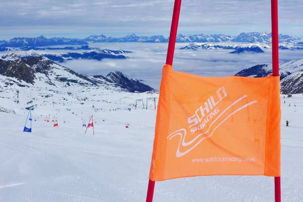 Schild Skiracing Facebook